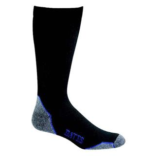 Bates Moderate Compression Mid Calf Socks - 4 Pair Black