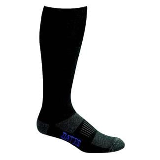 Bates All Climate Lightweight Over The Calf Socks - 4 Pair Black