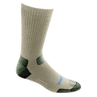 Bates Tactical Uniform Mid Calf Socks - 4 Pair Desert Tan