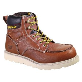 Cat Footwear Alloy ST Yellow Tan