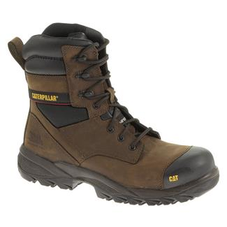 "Cat Footwear 8"" Dynamo CT Dark Brown"
