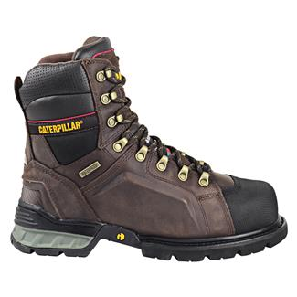 Cat Footwear Excavator 400G ST WP Dark Brown