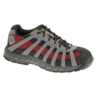 Cat Footwear Switch ST Black / Medium Charcoal / Red