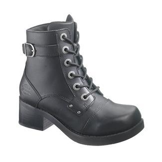 """Harley Davidson Footwear 5"""" Evie Black"""