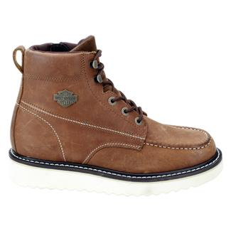"Harley Davidson Footwear 6"" Beau Brown"