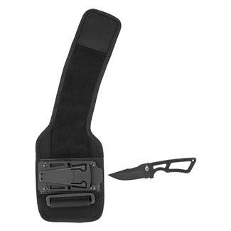 Gerber GHOSTRIKE Series Fixed Blade Knife Deluxe Kit Plain Edge Black