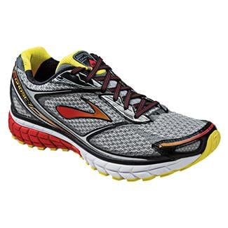 Brooks Ghost 7 Silver / Black / Mars Red