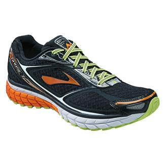 Brooks Ghost 7 Black / Orange Peel / Silver