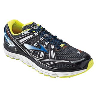Brooks Transcend Black / Bachelor Button / Lime Punch