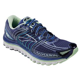 Brooks Glycerin 12 Blueprint / Patina Green / Silver