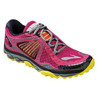 Brooks PureGrit 3 Sangria / Cherry Tomato / Buttercup