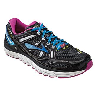 Brooks Transcend Black / White / Festival Fuchsia