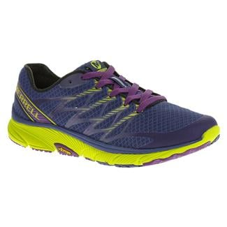 Merrell Bare Access Ultra Blue / Lime