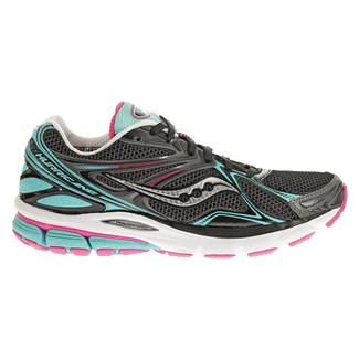 Saucony Hurricane 16 Black / Blue / Pink