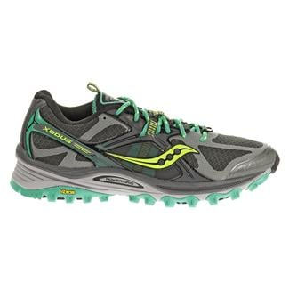 Saucony Xodus 5.0 Gray / Green / Citron