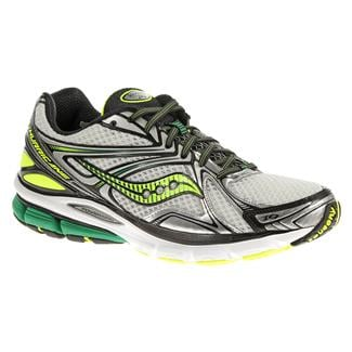 Saucony Hurricane 16 White / Green / Citron