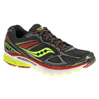 Saucony Guide 7 Black / Citron / Red