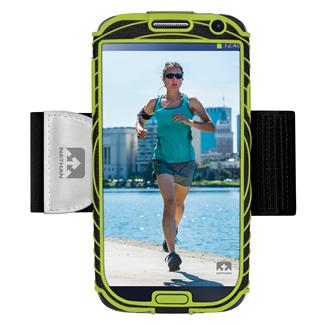 Nathan SonicBoom Armband Phone Cases Samsung Galaxy S4 Black / Lime