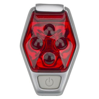 Nathan HyperBrite Strobe Signaling Light Fiery Red / Silver