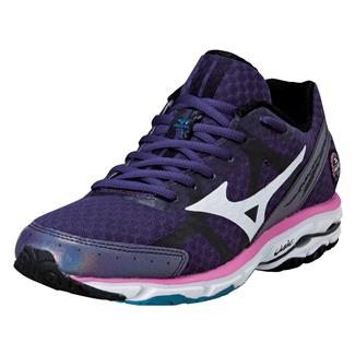 Mizuno Wave Rider 17 Purple Plumeria / White / Shocking Pink