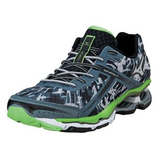 Mizuno Wave Creation 15 Dark Slate / Green Flash / Silver