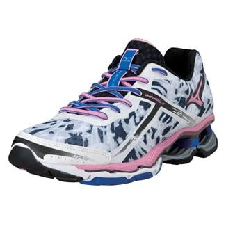 Mizuno Wave Creation 15 White / Sea Pink / Dazzling Blue