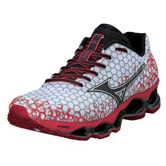 Mizuno Wave Prophecy 3 White / Chinese Red / Black