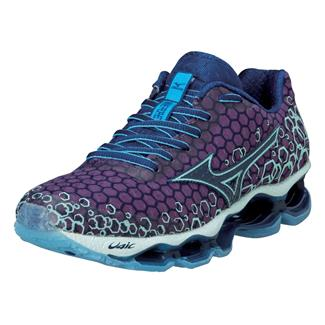 Mizuno Wave Prophecy 3 Purple Passion / Blue Depths / Honeydew