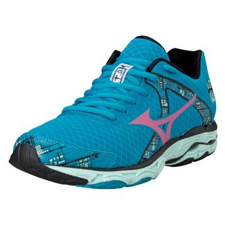 Mizuno Wave Inspire 10 Caribbean Sea / Shocking Pink / Honeydew