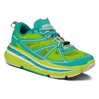 Hoka One One Stinson Lite Acid / Aqua / White