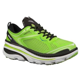 Hoka One One Bondi 3 Green Glow / Black / White