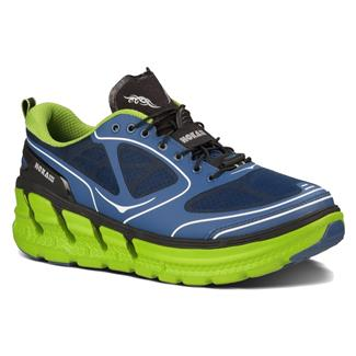 Hoka One One Conquest Navy Blue / Lime / Black
