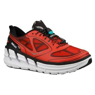 Hoka One One Conquest Fiery Red / Black / Silver