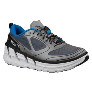 Hoka One One Conquest Forest Gray / Blue / White
