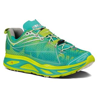 Hoka One One Huaka Acid / Aqua / White