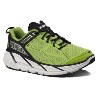 Hoka One One Clifton Lime / Black / White