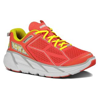Hoka One One Clifton Coral / White / Yellow