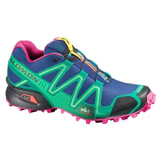 Salomon Speedcross 3 G Blue / Emerald Green / Hot Pink
