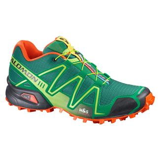 Salomon Speedcross 3 Bottle Green / Sinople Green / George Orange-X