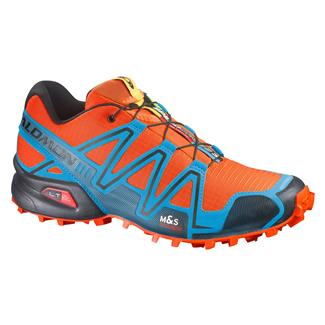 Salomon Speedcross 3 George Orange-X / Methyl Blue / Black