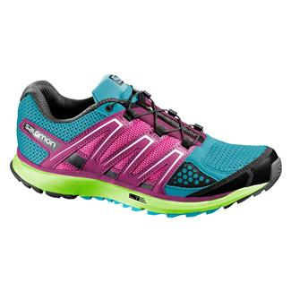 Salomon X-Scream Boss Blue / Granny Green / Hot Pink