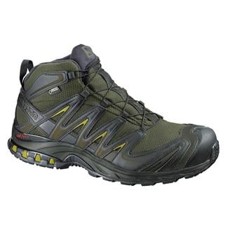 Salomon XA Pro Mid GTX Iguana Green / Black / Corylus Green