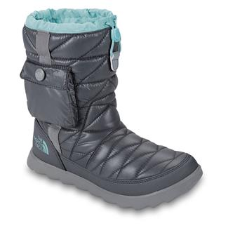 The North Face ThermoBall Bootie Shiny Zinc Gray / Bonnie Blue