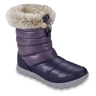 The North Face ThermoBall Micro-Baffle Bootie Shiny Purple Sage / Dapple Gray