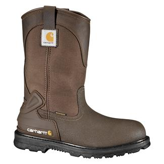 "Carhartt 11"" Mud Wellington WP Bison Brown"