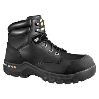 "Carhartt Rugged-Flex 6"" CT WP Black Oil Tanned"