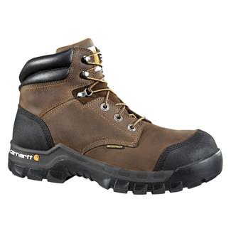 "Carhartt Rugged-Flex 6"" CT WP Dark Brown Oil Tanned"