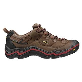 Keen Durand Low WP Dark Earth / Red Dahlia