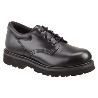 Thorogood Classic Leather Academy Oxford ST Black