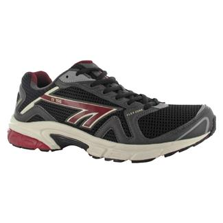 Hi-Tec R156 Charcoal / Black / Red